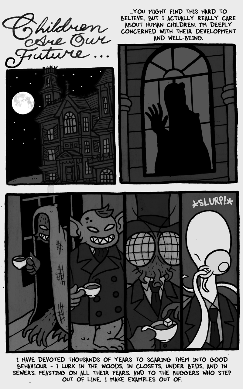 Here Comes the Bogeyman, page 1