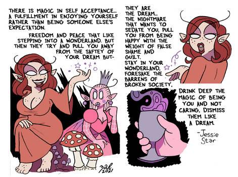 Magic in Self-Acceptance