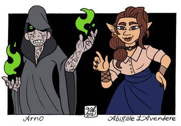 Arno and Abigale L'Avendere