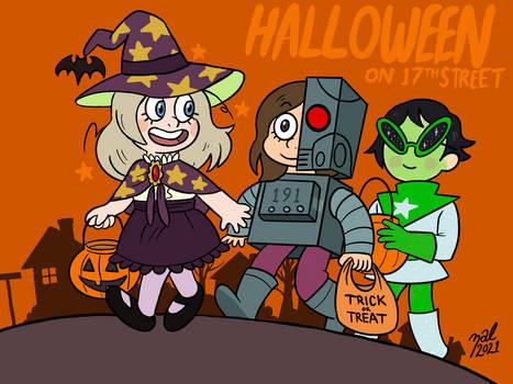 SCP: Halloween on 17th Street