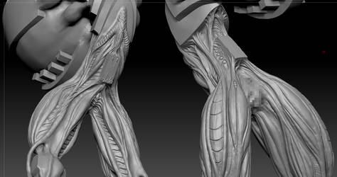 highpoly sculpt 01 by Indrome