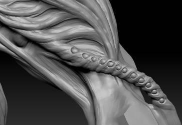 highpoly sculpt 02 pipe detail