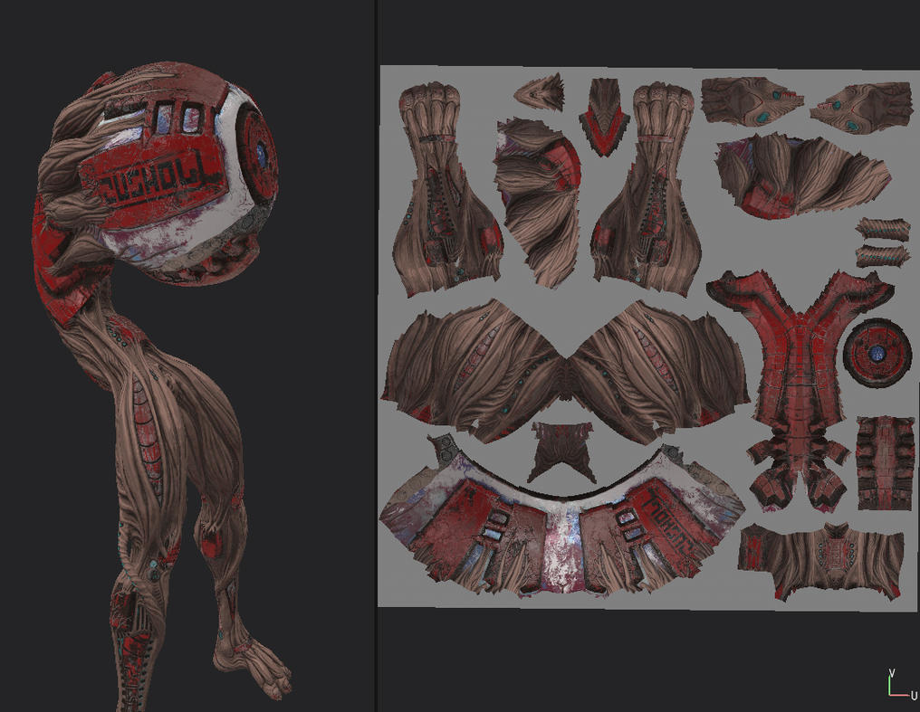texturing 02 by Indrome