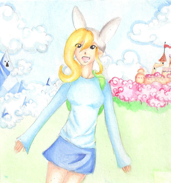 Fionna the Human by WinterEquinox31
