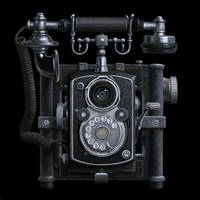 Antique Camera Phone