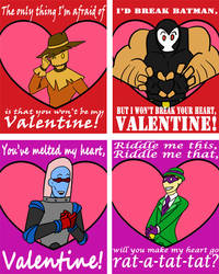 Batman Villain Valentines 1 by KaterraTheAvatar