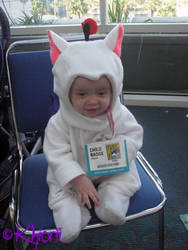 Baby Moogle Cosplay 004 by Khiorii