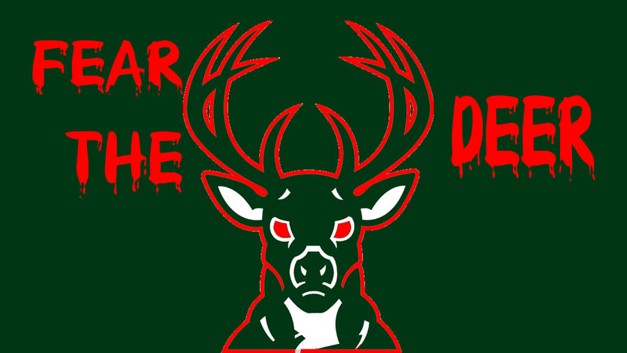 Milwaukee Bucks Fear The Deer By DevilDog360
