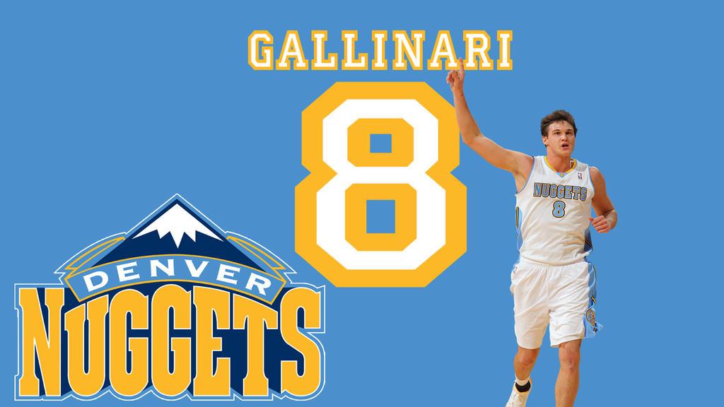 Denver Nuggets:Danilo Gallinari By DevilDog360 On DeviantArt