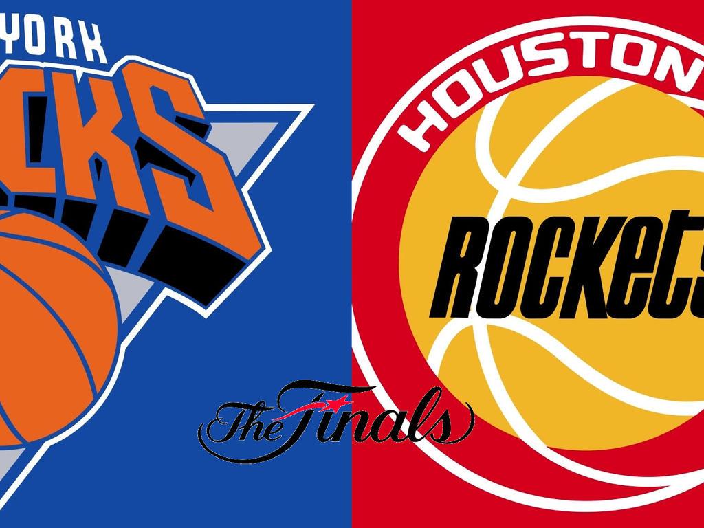 NBA Finals 1994:Knicks vs Rockets by DevilDog360 on DeviantArt