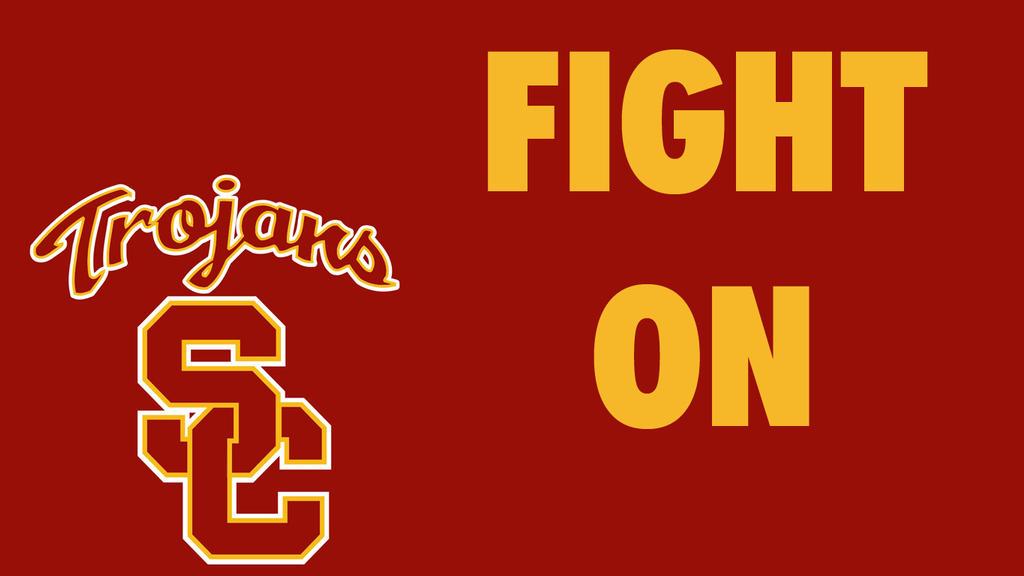 Usc Trojans Fight On Wallpaper USC Trojans by DevilDo...
