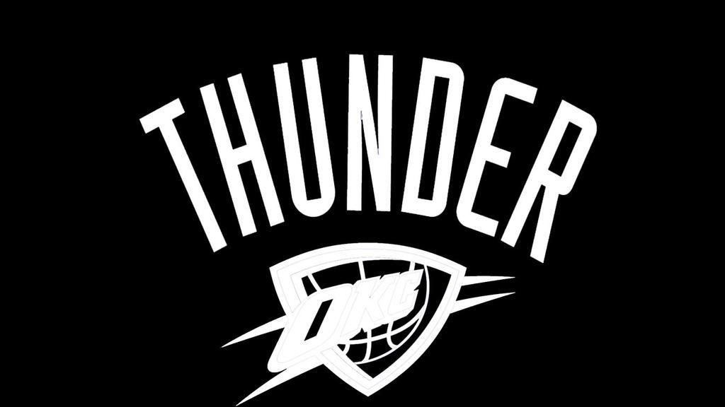 oklahoma city thunder coloring page - nba logo black and white the image kid