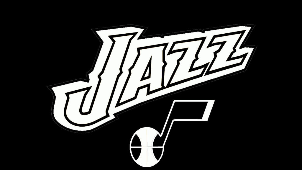 NBA Black and White:Utah Jazz by DevilDog360 on DeviantArt