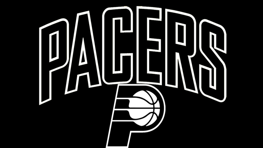 NBA Black and White:Indiana Pacers by DevilDog360 on ...