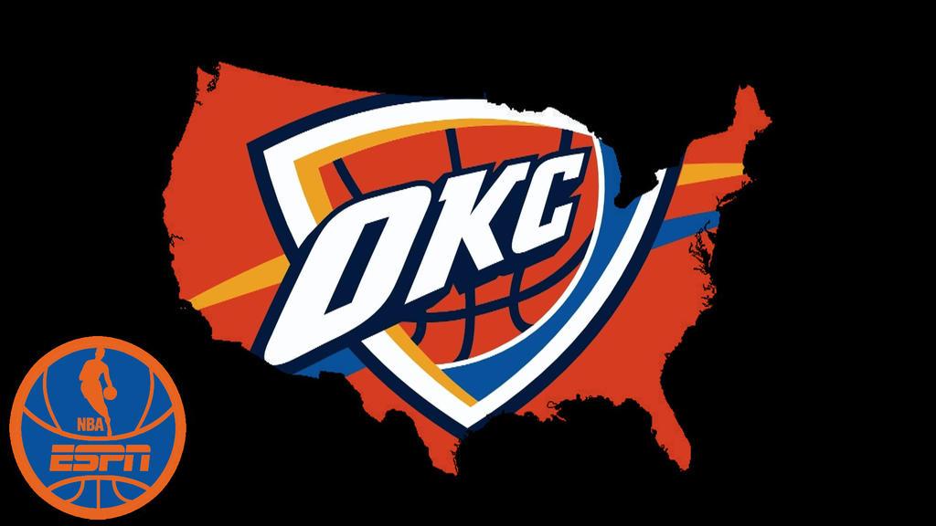 NBA USAOklahoma City Thunder By DevilDog360