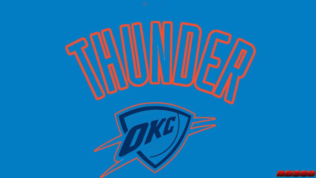 NBA Winter Inverse Oklahoma City Thunder By DevilDog360