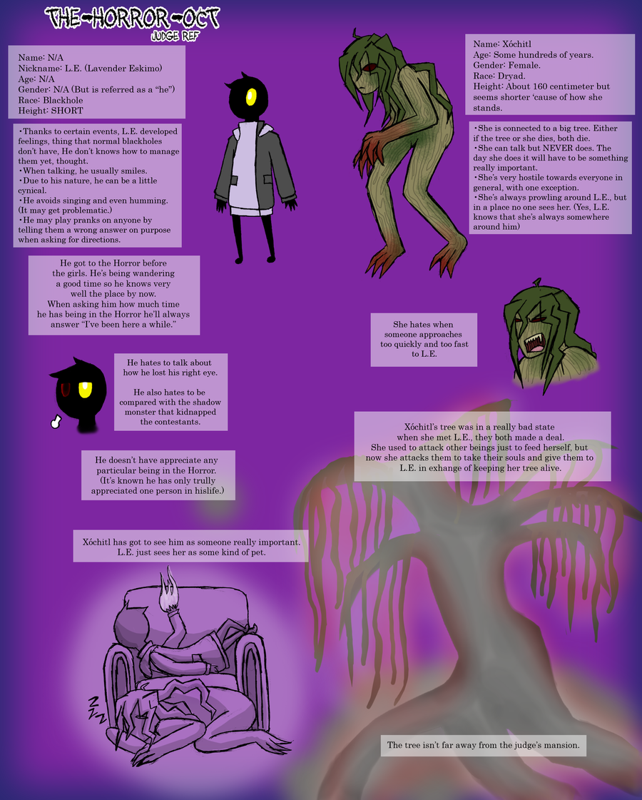 THOCT: The Blackhole and the Dryad, Judge ref. by MexicanManatee