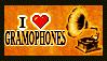 Gramophone Stamp by black-brd