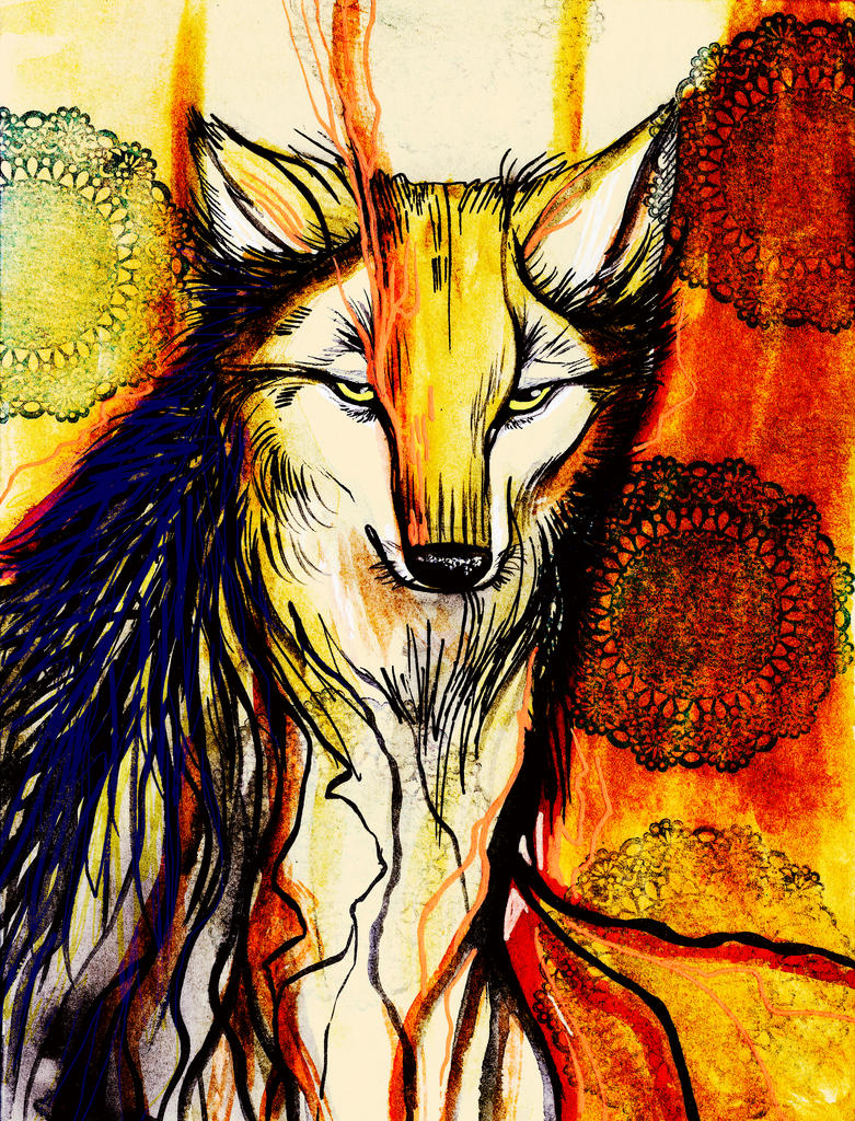 Coyote by Crowtesque