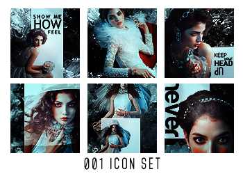 001 Icon Set by dyoomma