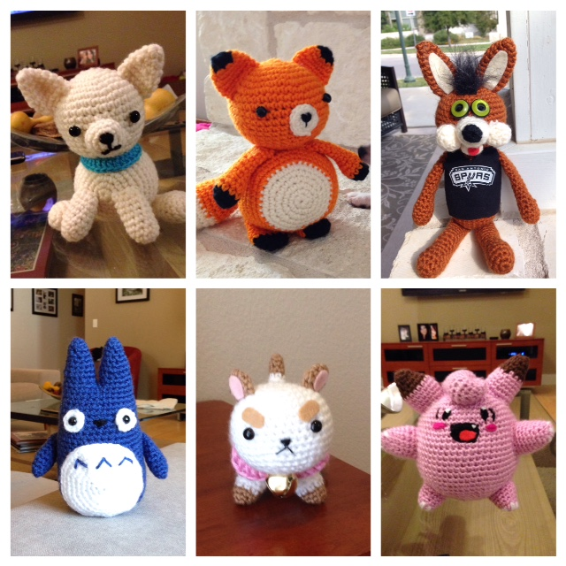 My Amigurumi Plushies by tlcole on DeviantArt