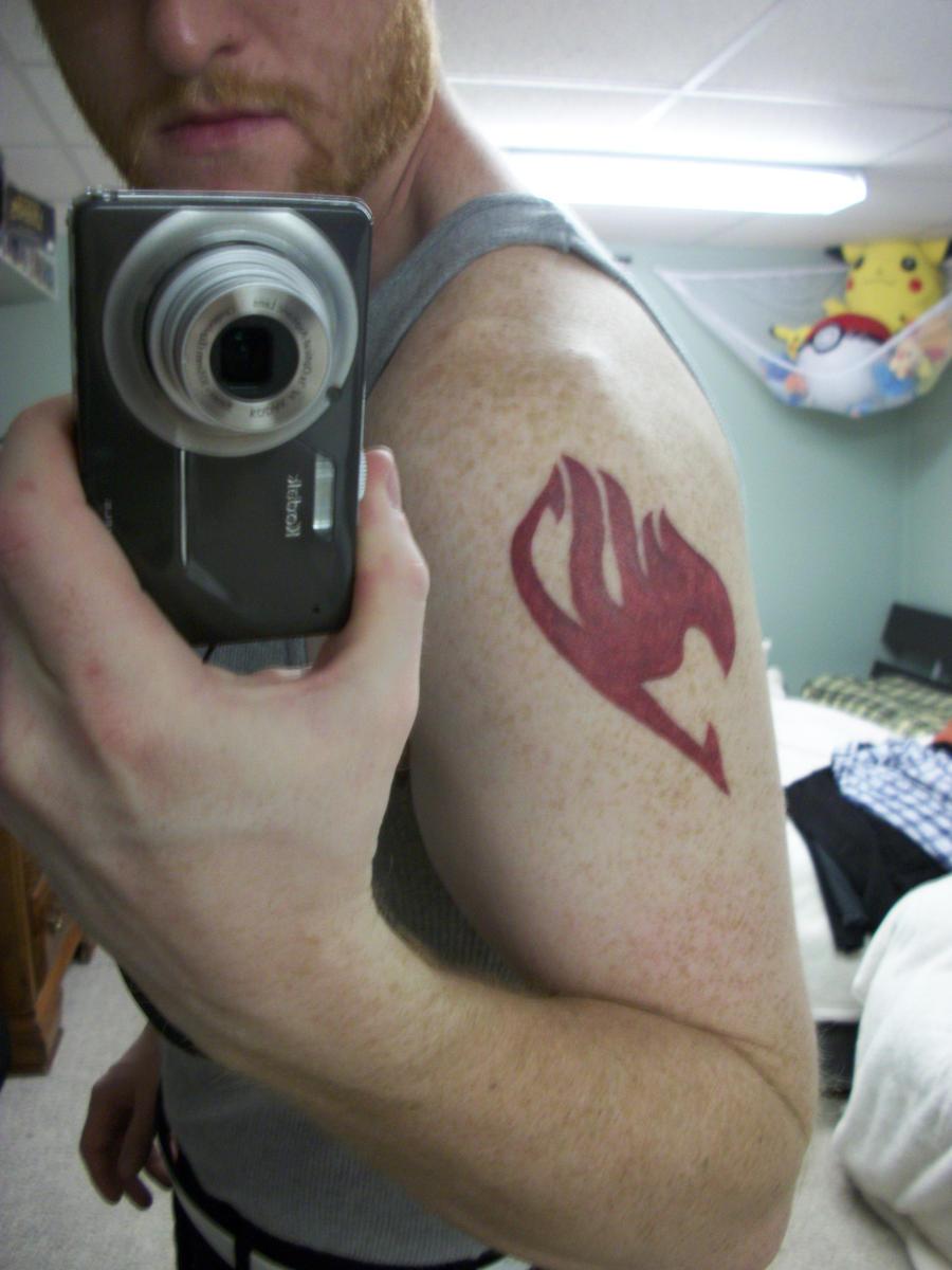 My First Tattoo Fairy Tail Emblem By Timinsk On Deviantart