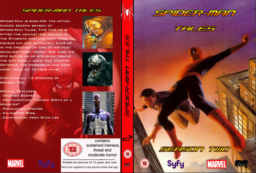 Spider-Man DVD Cover Fan Made (Season Two) By Stick-man-11