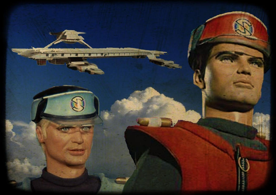 Captain Scarlet And The Mysterons By Stick