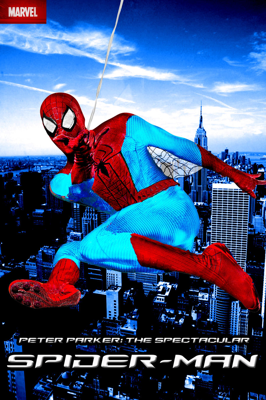 Peter Parker The Spectacular Spider Man Poster 2 By Stick 11