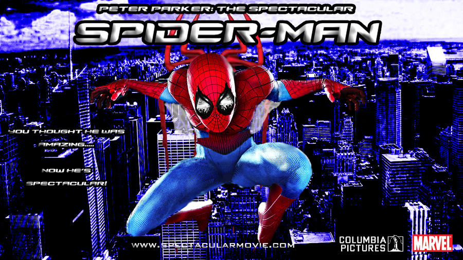 Peter Parker The Spectacular Spider Man Poster 3 By Stick 11