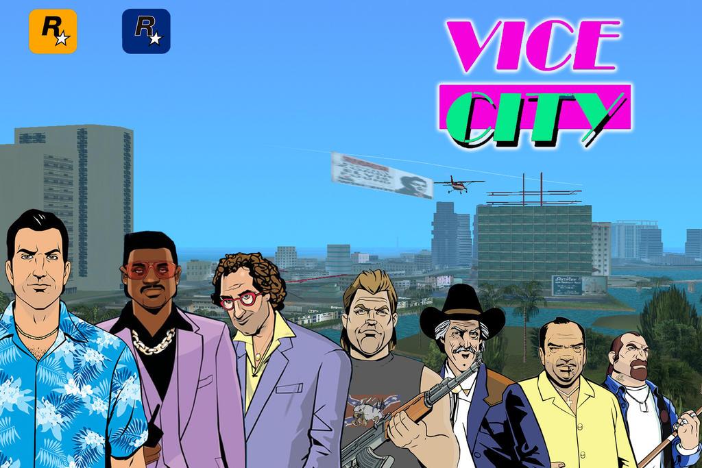 rockstar games vice city