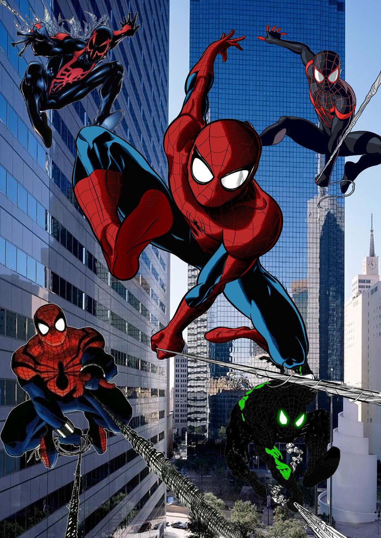 The spider man corps return by stick man 11 d77ew5g jpg