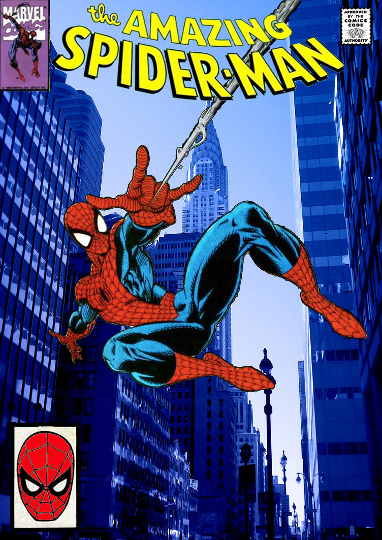 Spider-Man cover (comic inspired) by stick-man-11 on ...