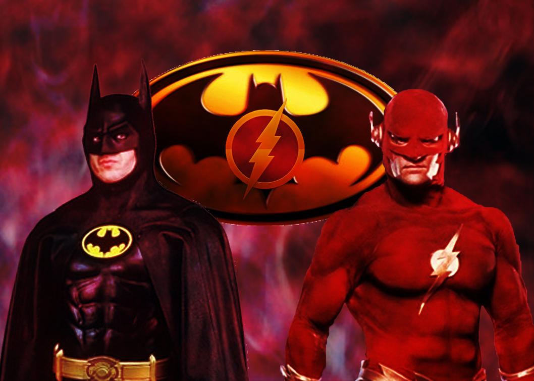 The Batman and The Flash by stick-man-11