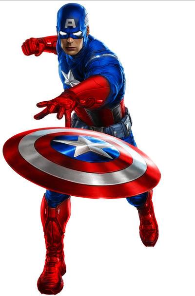 Portal Earth's Captain America by stick-man-11