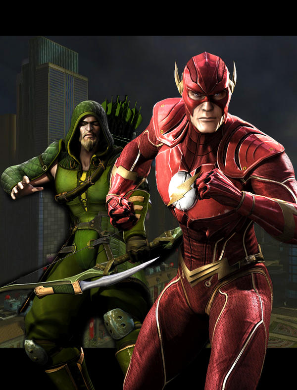 Injustice The Flash And Green Arrow By Stick Man 11