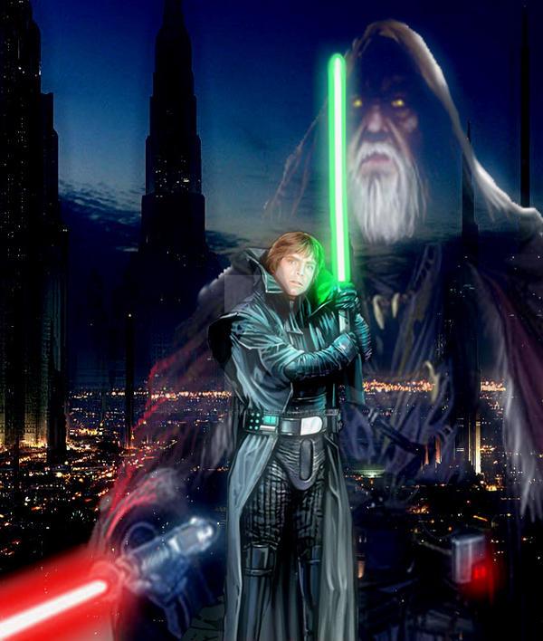 Star Wars: Darkest Knight by stick-man-11