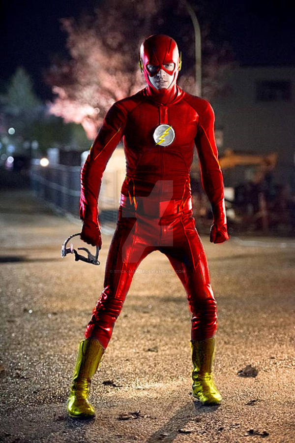 The Flash from the future? by stick-man-11
