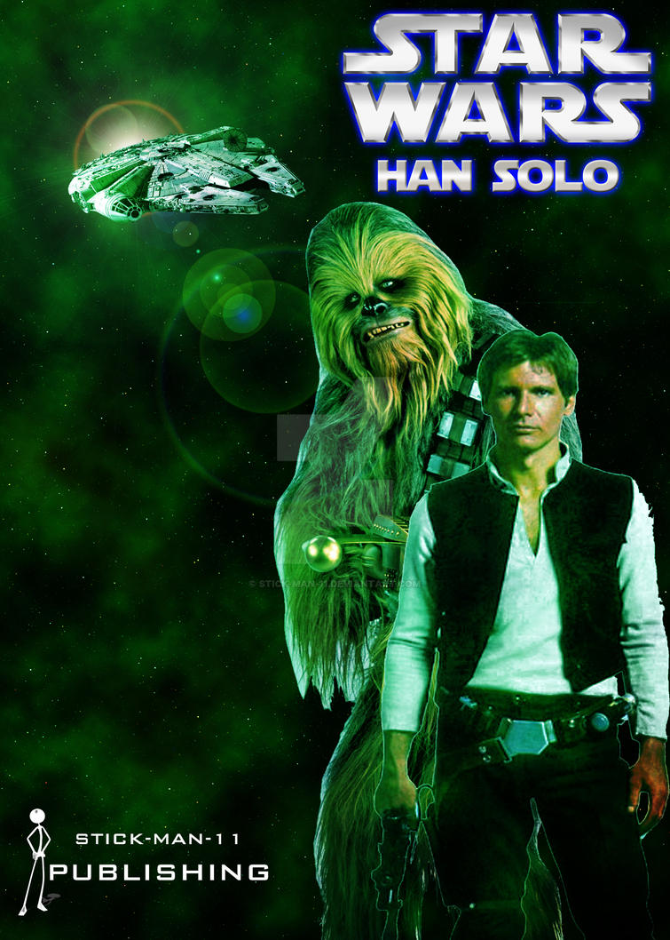 Star Wars: Han Solo cover poster. by stick-man-11