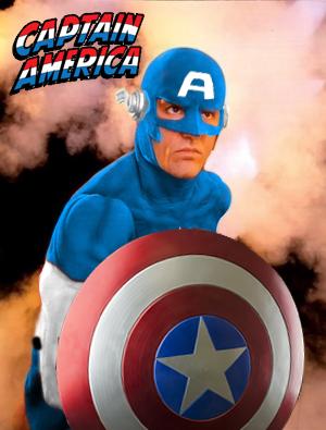John Wesley Shipp is Captain America. by stick-man-11