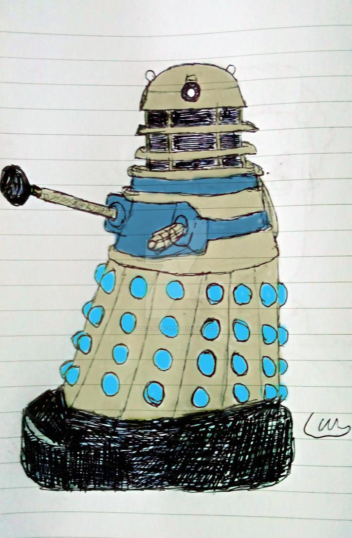 My little Dalek by stick-man-11