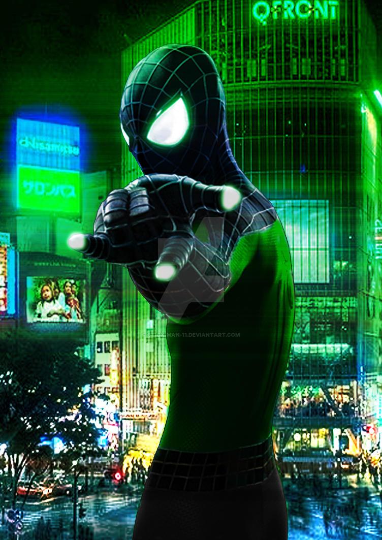 Spider-Man Sonny by stick-man-11