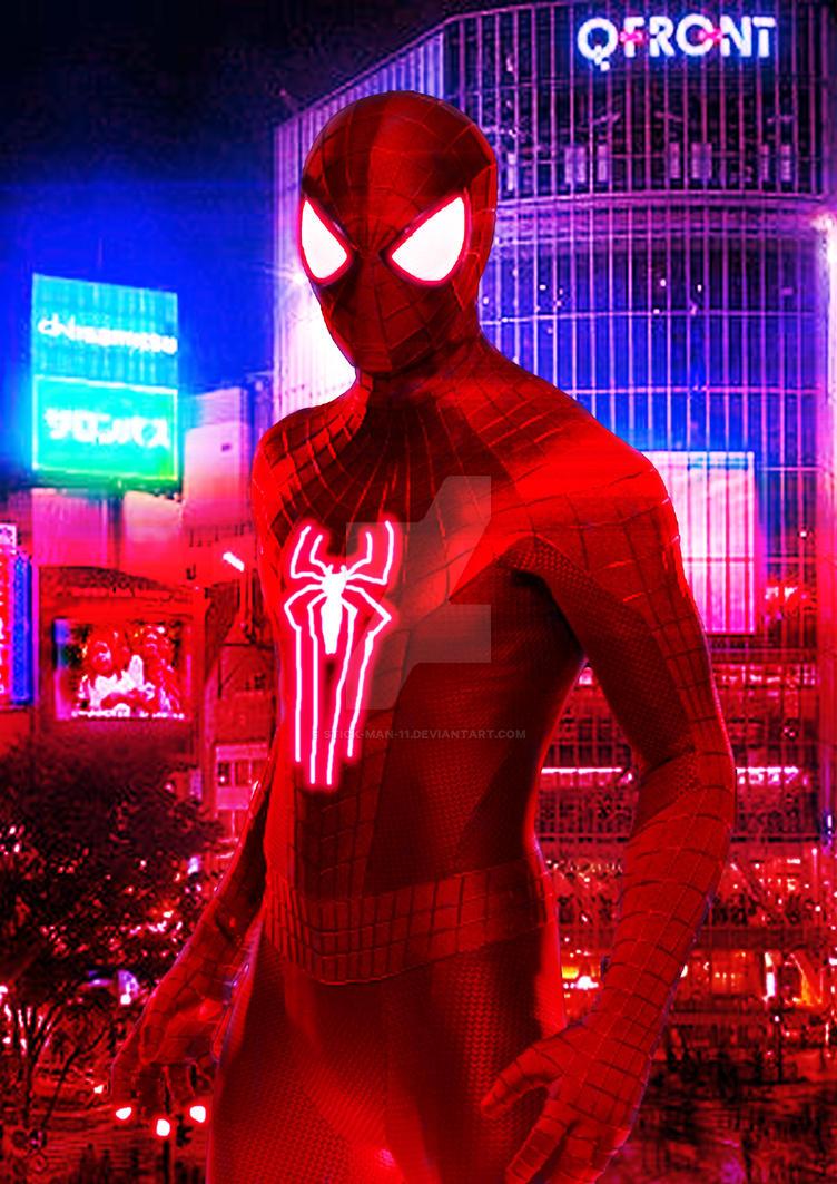 Scarlet Spider Kendrick Jr by stick-man-11