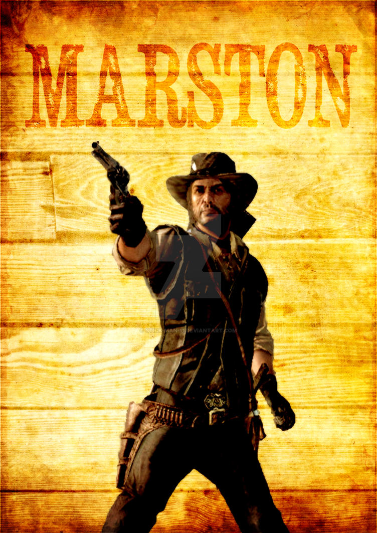 Marston's Poster by stick-man-11