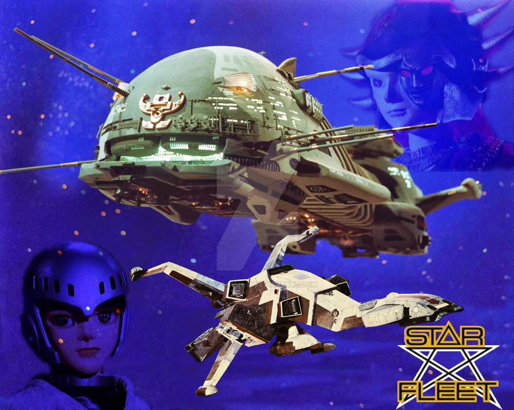 Star Fleet X Bomber by stick-man-11