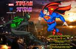 Spider-Man Superman Tech Wars crossover