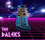 Dalek line art by stick-man-11