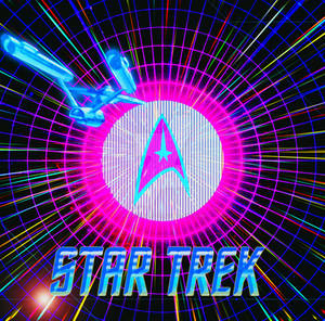 Star Trek The Animated Series (Neon Retro)