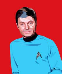 Doctor Leonard McCoy Photoshop Drawing