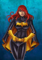batgirl colors by funeralwind